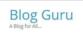Blog guru logo