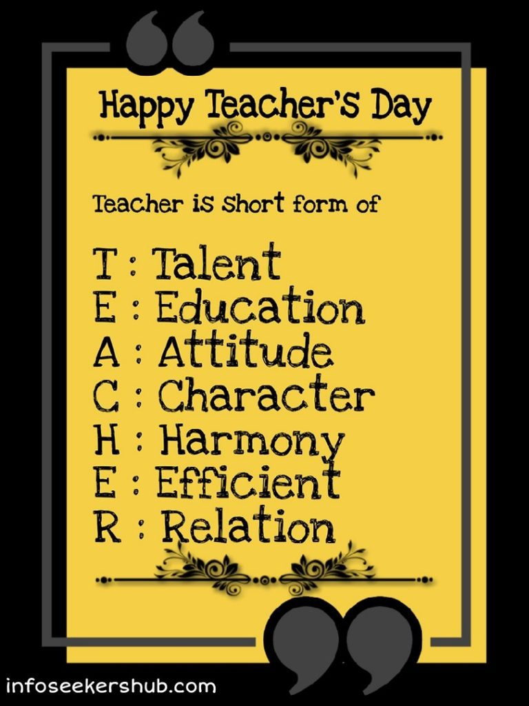 Teachers day 6