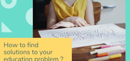 How to find solutions to your education problem